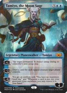 Tamiyo, the Moon Sage - Ravnica Allegiance - Mythic Edition