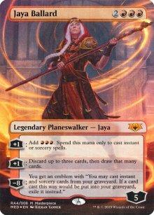 Jaya Ballard - Ravnica Allegiance - Mythic Edition