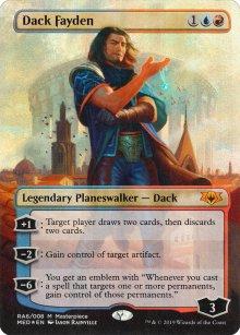 Dack Fayden - Ravnica Allegiance - Mythic Edition