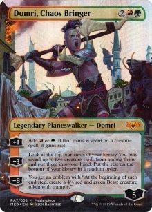 Domri, Chaos Bringer - Ravnica Allegiance - Mythic Edition