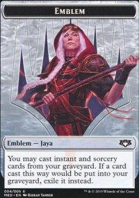 Emblem Jaya Ballard - Ravnica Allegiance - Mythic Edition