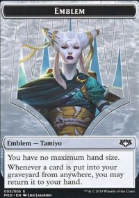 Emblem Tamiyo, the Moon Sage - Ravnica Allegiance - Mythic Edition