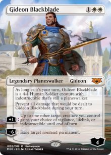 Gideon Blackblade - War of the Spark - Mythic Edition