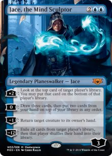 Jace, the Mind Sculptor - War of the Spark - Mythic Edition