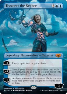 Tezzeret the Seeker - War of the Spark - Mythic Edition