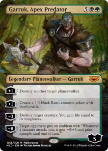 Garruk, Apex Predator - War of the Spark - Mythic Edition