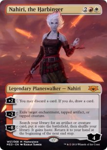 Nahiri, the Harbinger - War of the Spark - Mythic Edition