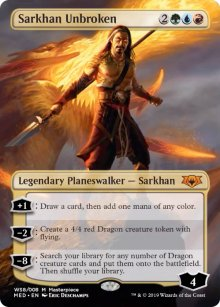 Sarkhan Unbroken - War of the Spark - Mythic Edition