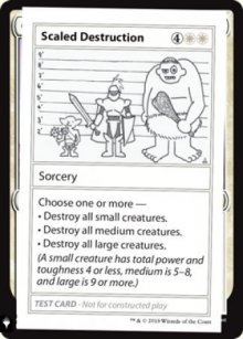 Scaled Destruction - Mystery Booster
