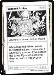 Wizened Arbiter - Mystery Booster