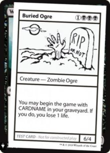 Buried Ogre -