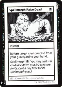 Spellmorph Raise Dead - Mystery Booster