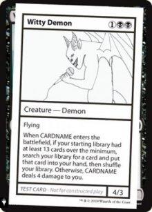 Witty Demon -