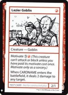 Lazier Goblin -