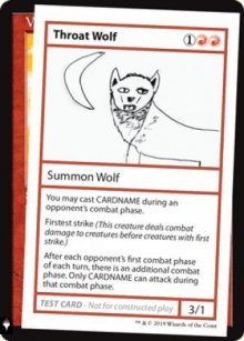 Throat Wolf -