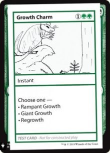 Growth Charm - Mystery Booster