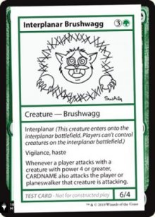 Interplanar Brushwagg - Mystery Booster