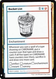 Bucket List - Mystery Booster