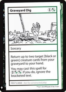 Graveyard Dig - Mystery Booster