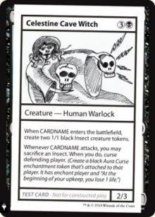 Celestine Cave Witch -