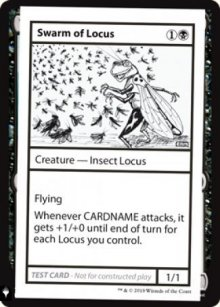 Swarm of Locus - Mystery Booster