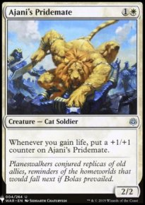 Ajani's Pridemate - Mystery Booster