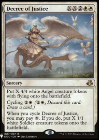 Decree of Justice - Mystery Booster