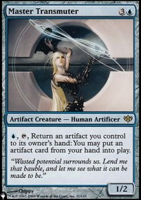 Master Transmuter - Mystery Booster