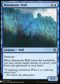 Mnemonic Wall - Mystery Booster