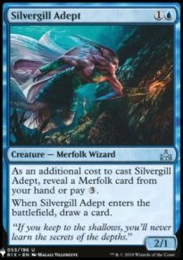 Silvergill Adept - Mystery Booster