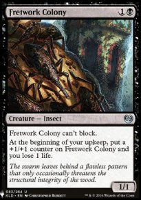 Fretwork Colony - Mystery Booster
