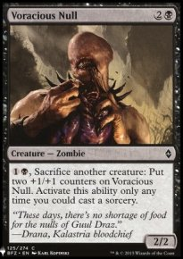 Voracious Null - Mystery Booster
