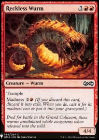 Reckless Wurm - Mystery Booster