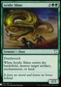 Acidic Slime - Mystery Booster