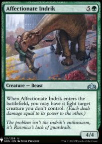 Affectionate Indrik - Mystery Booster