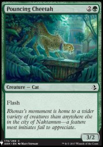 Pouncing Cheetah - Mystery Booster