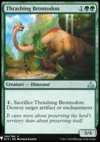 Thrashing Brontodon - Mystery Booster