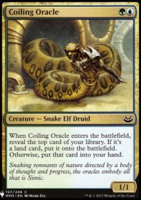 Coiling Oracle - Mystery Booster