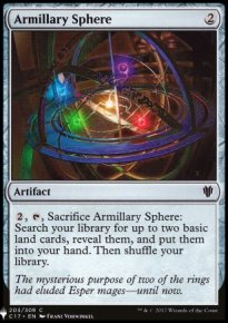 Armillary Sphere - Mystery Booster
