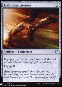 Lightning Greaves - Mystery Booster