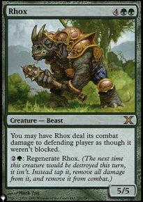Rhox - Mystery Booster