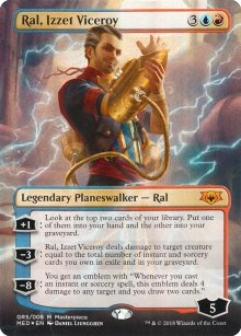 Ral, Izzet Viceroy - Guilds of Ravnica - Mythic Edition