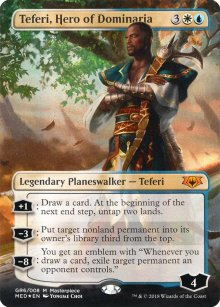 Teferi, Hero of Dominaria - Guilds of Ravnica - Mythic Edition