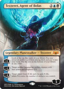 Tezzeret, Agent of Bolas - Guilds of Ravnica - Mythic Edition