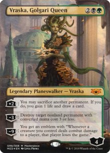 Vraska, Golgari Queen - Guilds of Ravnica - Mythic Edition