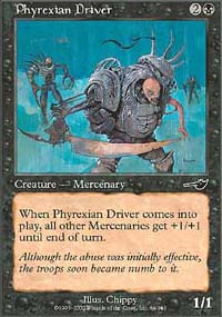 Phyrexian Driver - Nemesis
