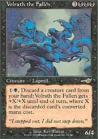 Volrath the Fallen - Nemesis