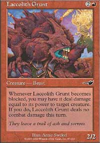 Laccolith Grunt - Nemesis