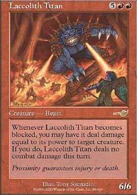 Laccolith Titan - Nemesis