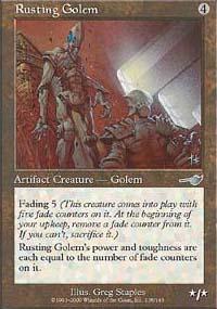 Rusting Golem - Nemesis